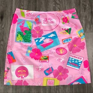 Lilly Pulitzer Pink Skirt